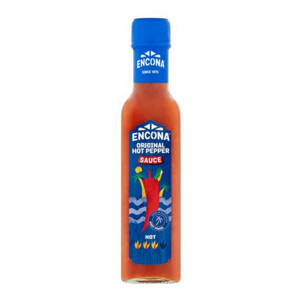 Encona - Original Hot Pepper Sauce - 142ml