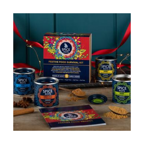 Spice Pots Festive Food Survival Kit - Made in Haddington