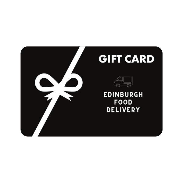 Edinburgh Food Delivery Digital Gift Card