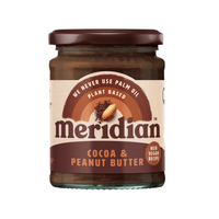Cocoa & Peanut Butter - Meridian - 280g