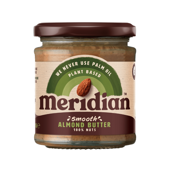Smooth Almond Butter - Meridian - Organic-  170g