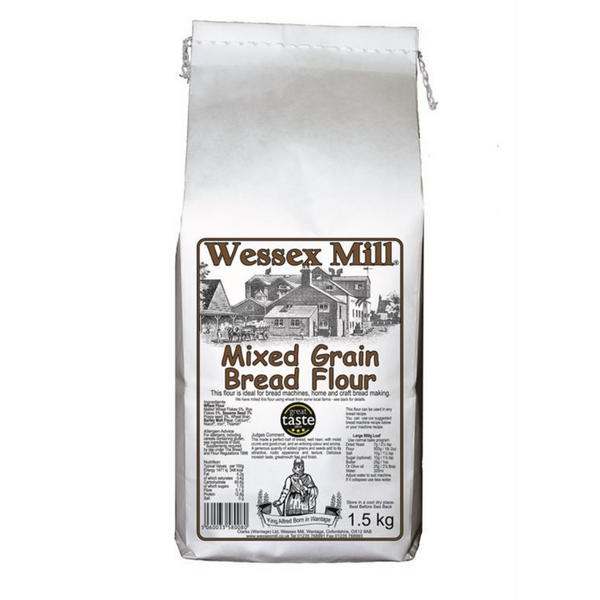 Mixed Grain Bread Flour - Wessex Mill - 1.5kg