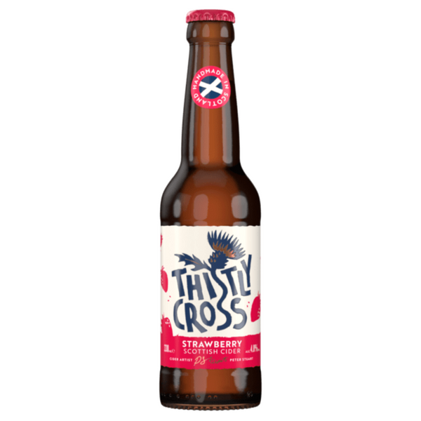 Thistly Cross Cider - Strawberry  - 330ml