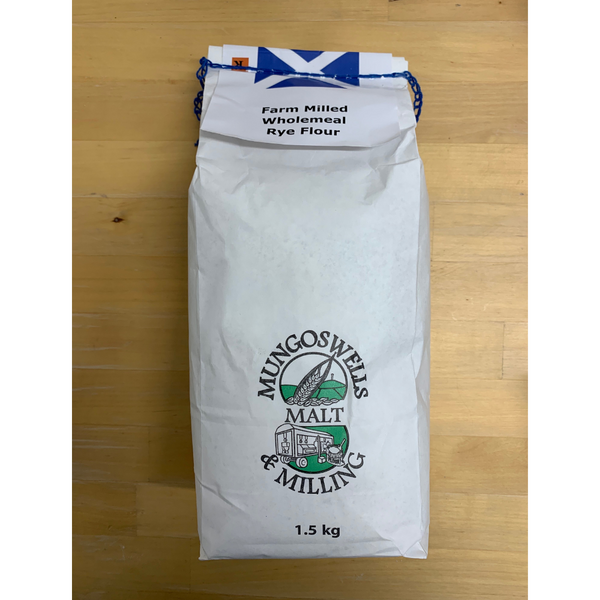 Wholemeal Rye Flour - Mungoswells - North Berwick - 1.5kg