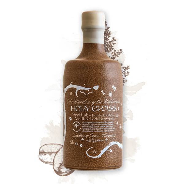 Holy Grass - Cold Brew Coffee Vodka - 70cl