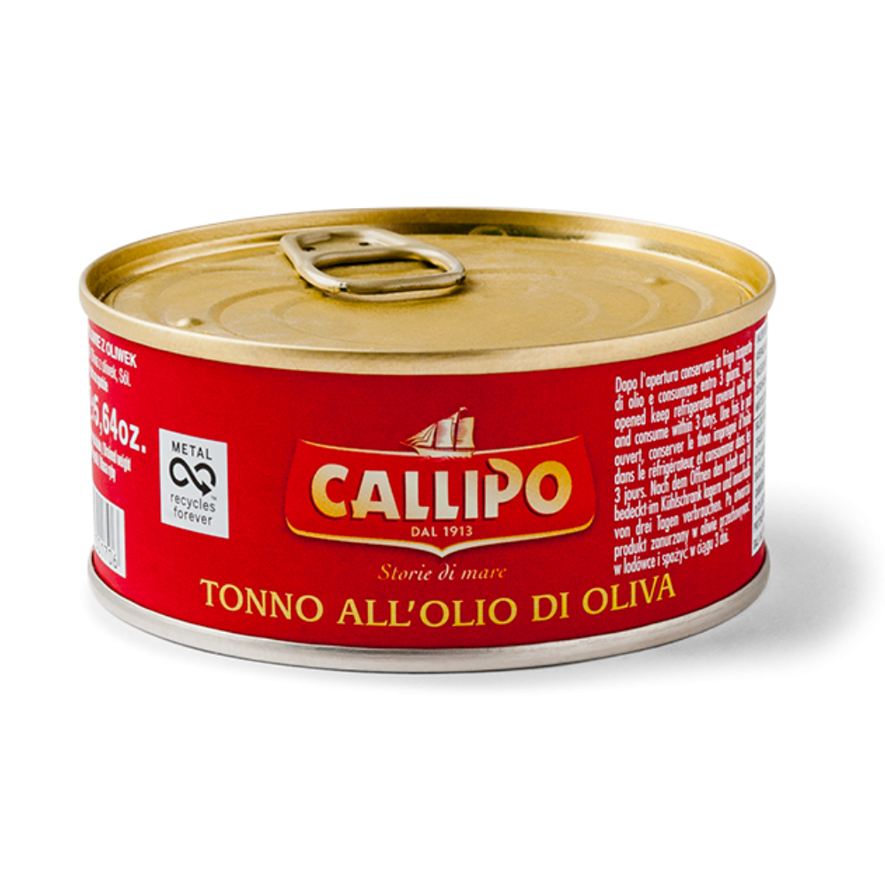 Tuna Chunks with Olive Oil - Callipo - 160g