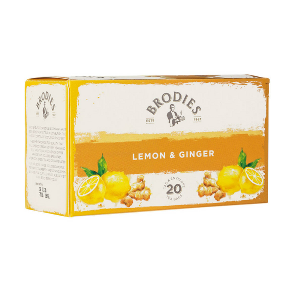 Lemon & Ginger Tea - Brodies (Edinburgh)