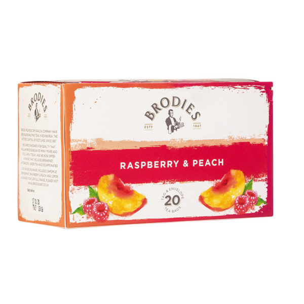 Raspberry & Peach Tea - Brodies (Edinburgh)