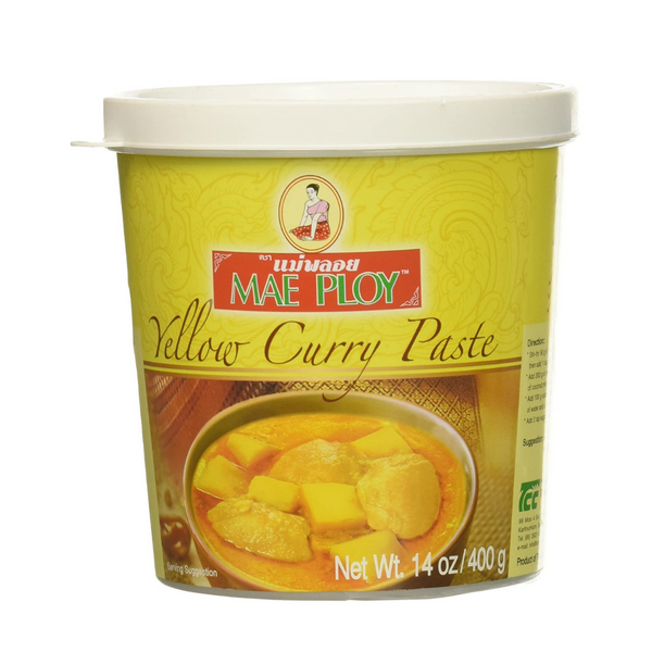 Yellow Curry Paste (V) - Mae Ploy - 400g