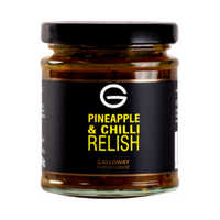 Pineapple & Chilli Relish - Galloway Burger House - 200g