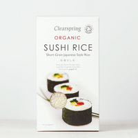 Organic Sushi Rice - Clearspring - 500g