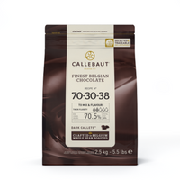 Callebaut - Belgium Dark Chocolate Callets - 2.5KG