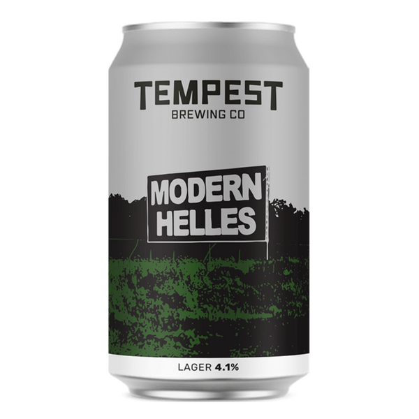 Modern Helles Lager - Tempest Brewing Co - 330ml