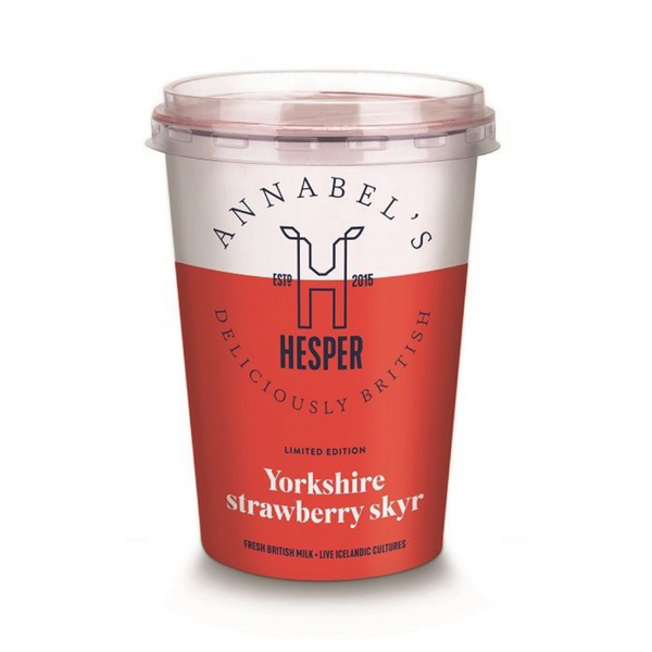 Hesper Skyr - Yorkshire Strawberry Skyr - 450g