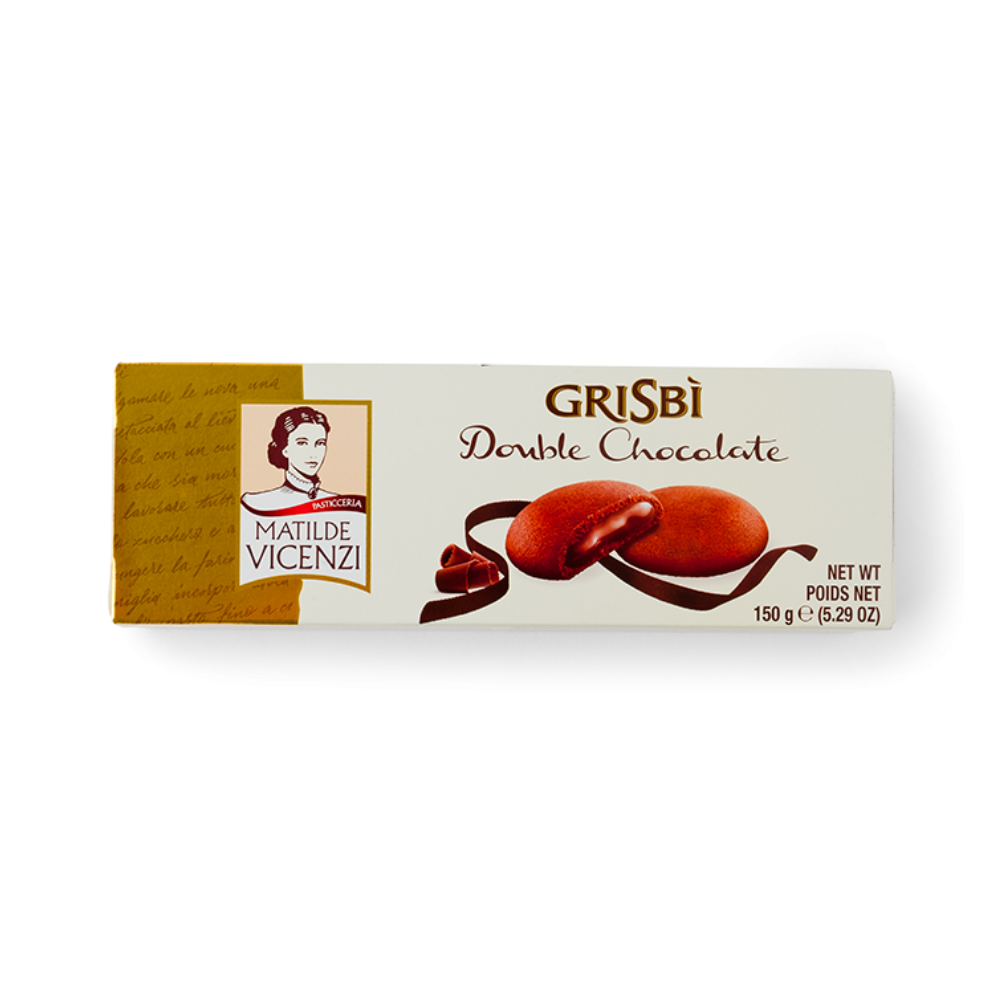 Grisbi Italian Shortbread - Double Chocolate - 150g