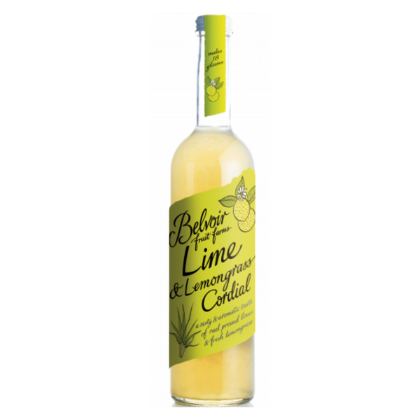 Belvoir - Lime & Lemongrass Cordial - 500ml