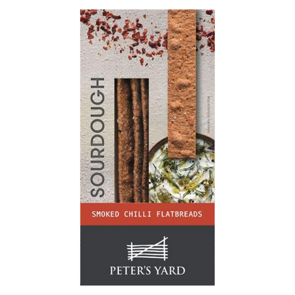 Peter's Yard - Sourdough Flatbread Smoked Chilli - 115g