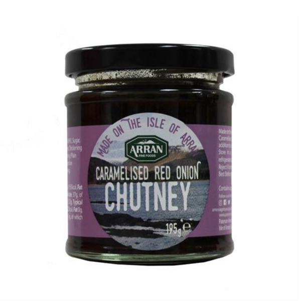 Arran Fine Foods - Caramelised Red Onion Chutney - 195g