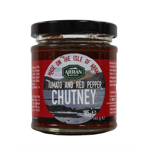 Arran Fine Foods - Tomato & Red Pepper Chutney - 185g