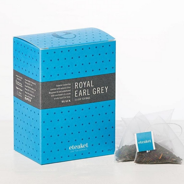 Royal Earl Grey Tea - Eteaket - Made in Edinburgh - 15 Teabags