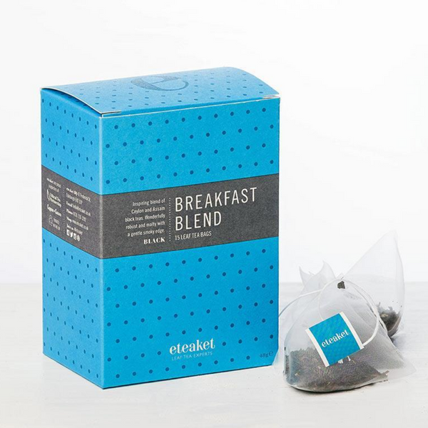 Breakfast Blend Tea - Eteaket - Made in Edinburgh - 15 Teabags