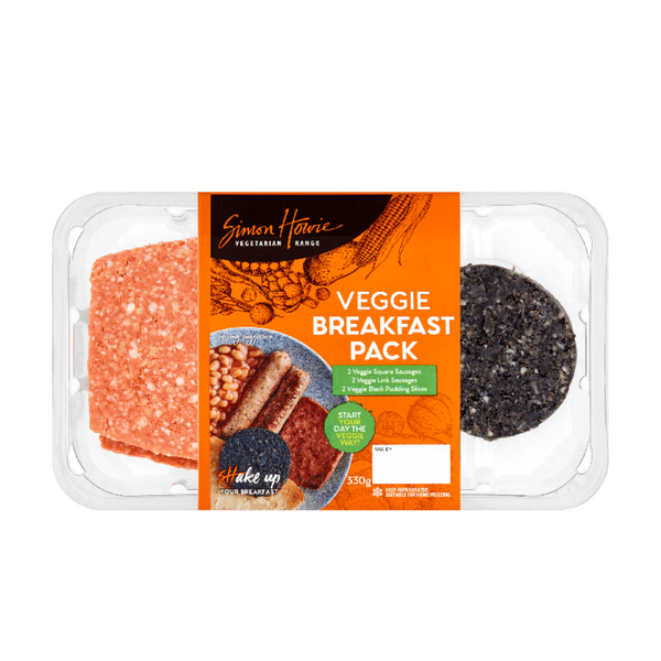 Simon Howie Veggie Breakfast Pack - 330g