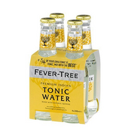 Fever Tree Indian Tonic Water - 4x 200ml