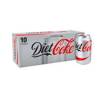 Diet Coke - Fridge Pack - 10x 300ml