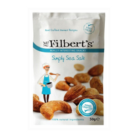 Simply Salted Mixed Nuts - Mr Filbert's - 110g