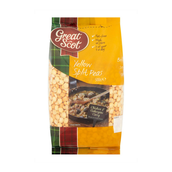 Yellow Split Peas - Great Scot - 500g