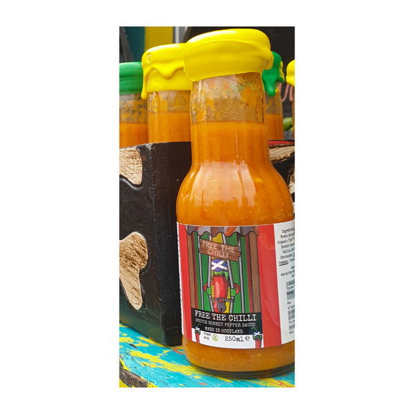 Free The Chilli - Scotch Bonnet Pepper Sauce - 250ml