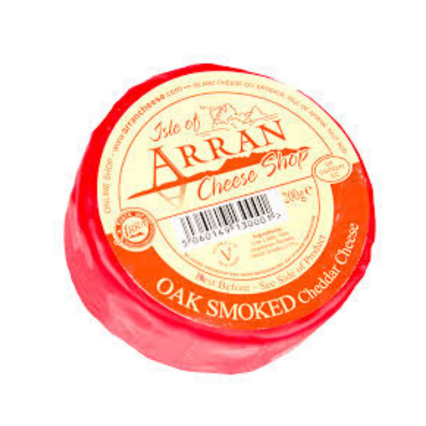 Arran Cheese Shop - Oak Smoked Cheddar Cheese - 200g
