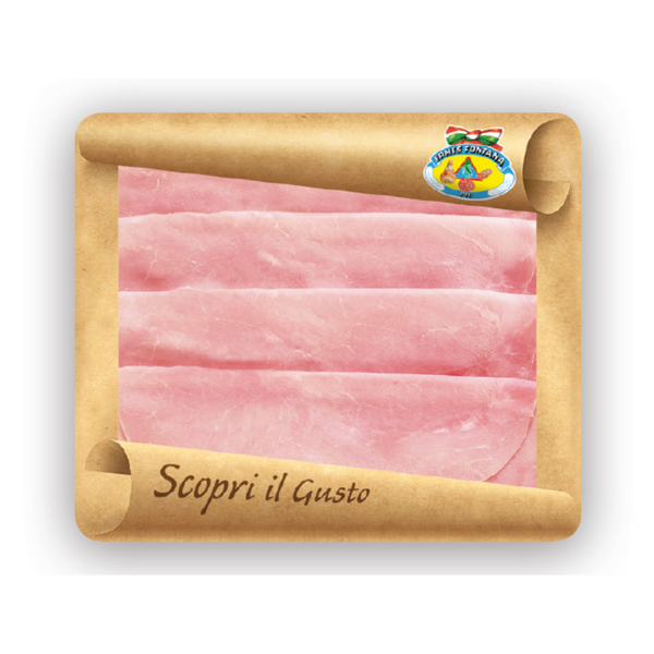Cooked Ham - Ermes Fontana - Sliced  125g