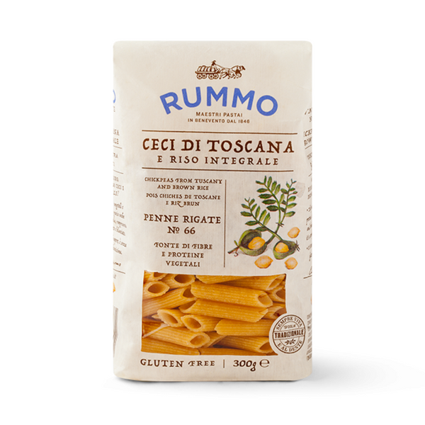 Chickpea Penne Rigate (GF) - Rummo - 300g