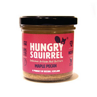 Maple Pecan Nut Butter by Hungry Squirrel - Made in Deeside - 150g