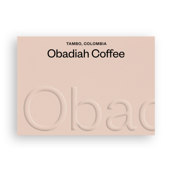Fresh Ground Coffee by Obadiah Edinburgh - Tambo, Colombia