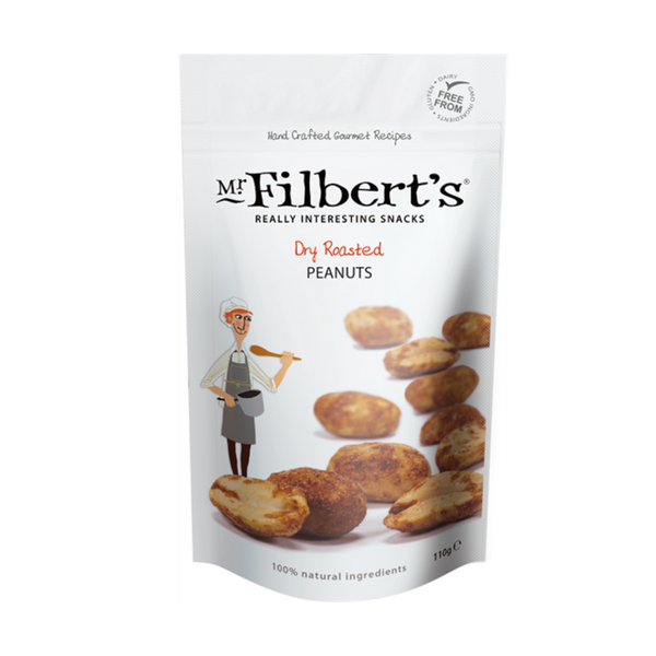 Dry Roasted Peanuts - Mr Filbert's - 110g