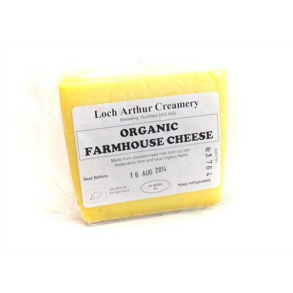 Loch Arthur Organic Farmhouse Cheese - 230g