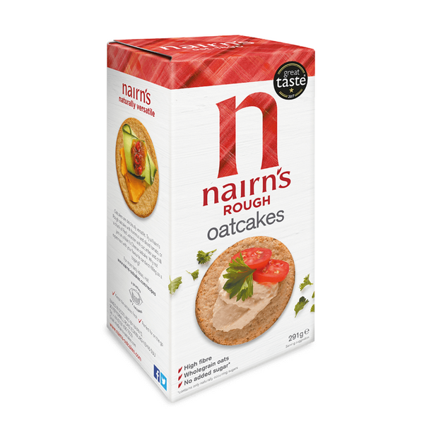 Nairns Rough Oatcakes - 291g
