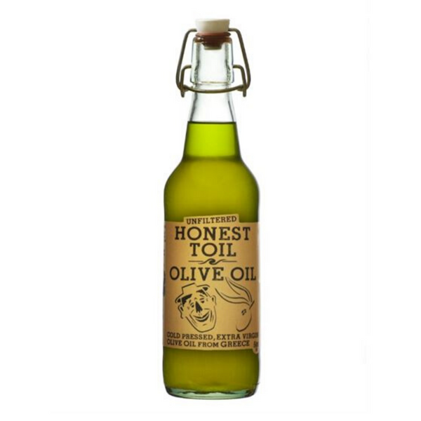 Honest Toil - Cold Pressed Extra Virgin Olive Oil Made in Greece - 500ml