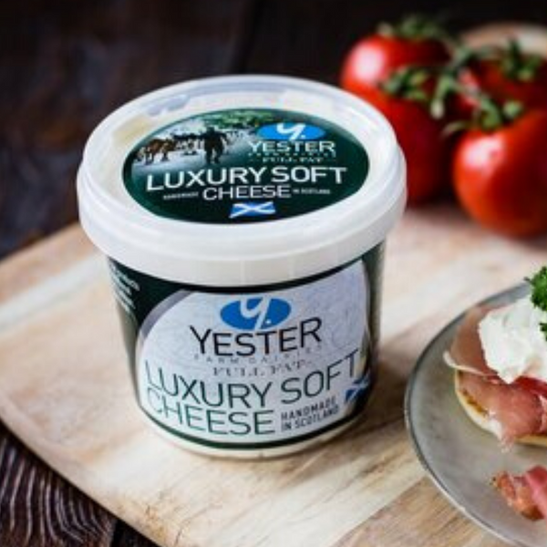 Luxury Soft Cheese - 320g - Yester Farm - Haddington