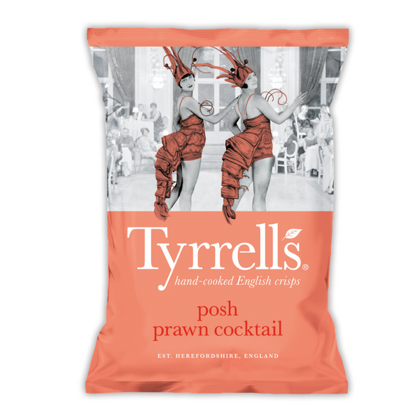 Posh Prawn Cocktail - Tyrrells - 150g
