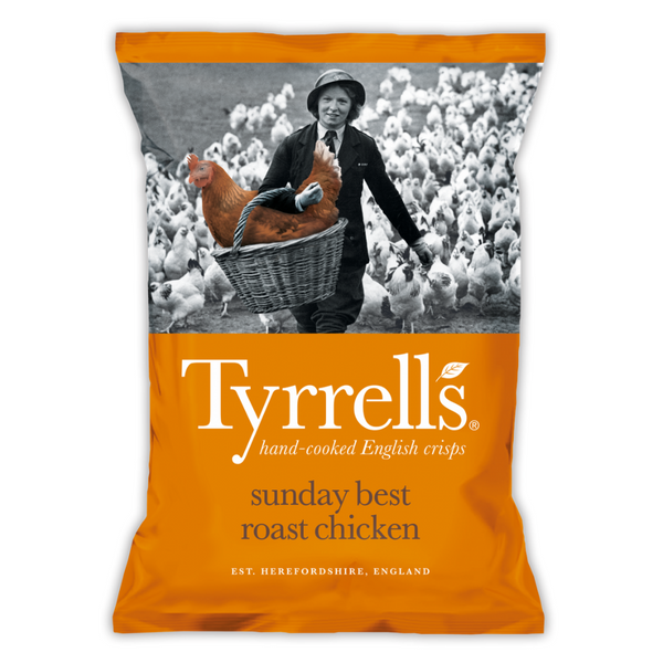 Sunday Best Roast Chicken Crisps - Tyrrells - 150g
