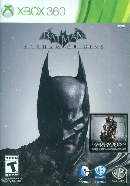 Batman Arkham Origins - Xbox 360 Pre-Played