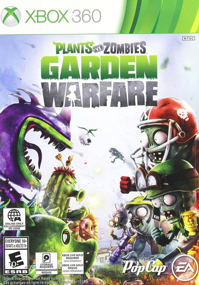 Plants vs Zombies - Garden Warfare - Xbox 360 Pre-Played