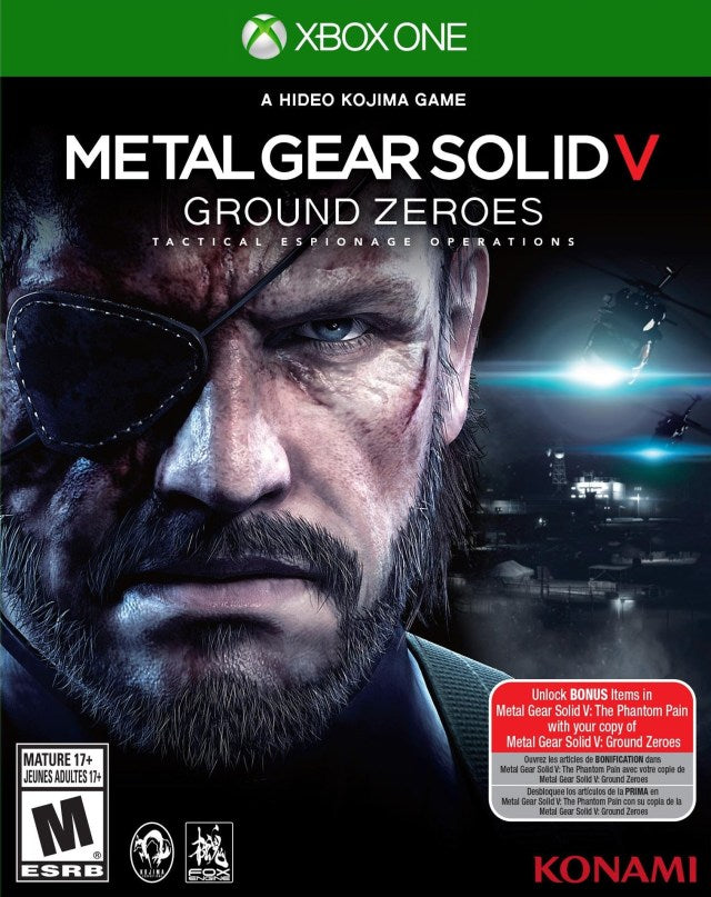 Metal Gear Solid V: Ground Zeroes - Xbox One Pre-Played