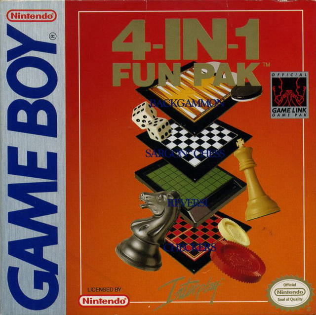 4 in 1 Fun Pak Nintendo Gameboy Front Cover