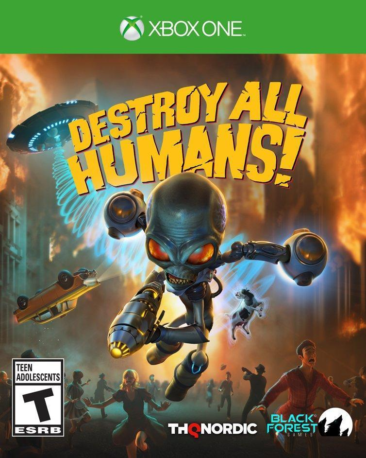 Destroy All Humans! - Xbox One Pre-Played