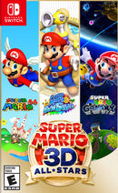 Super Mario 3D All Stars Nintendo Switch Box Front