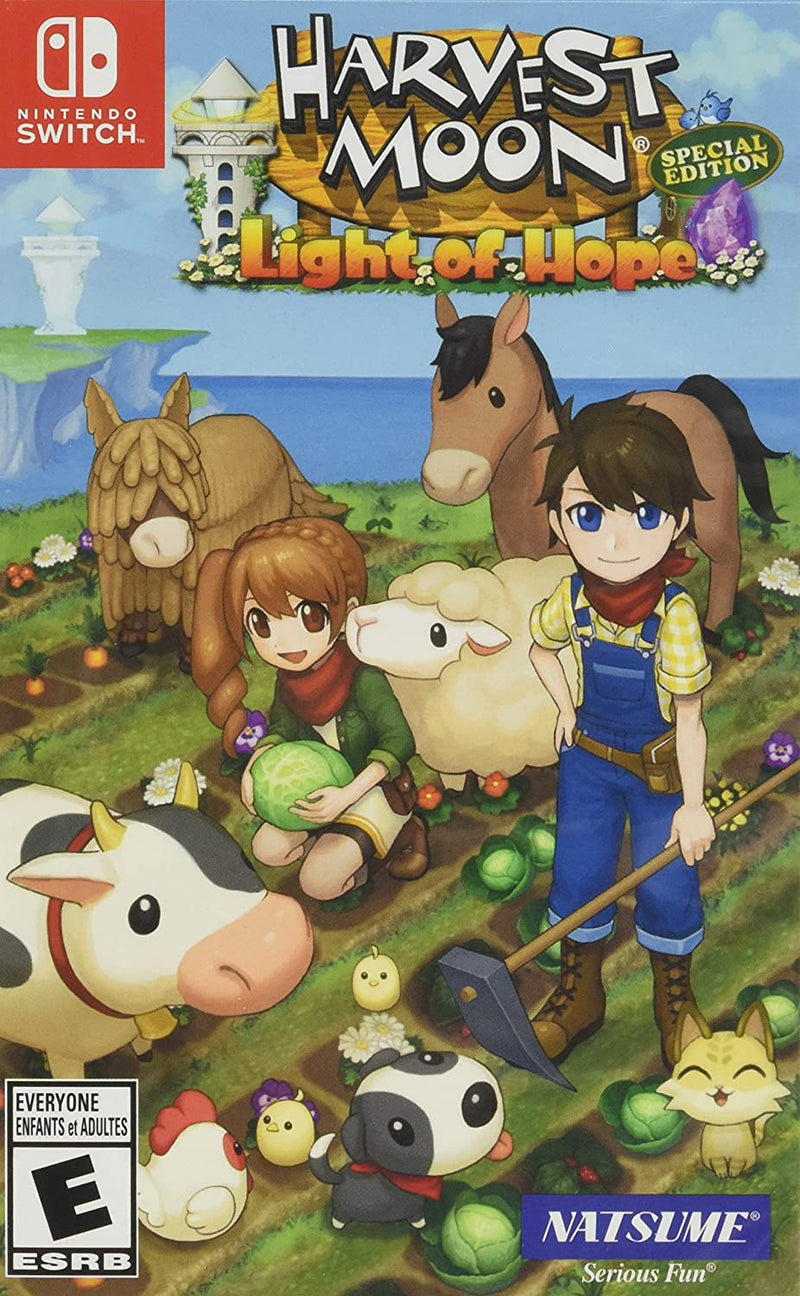 Harvest Moon Light of Hope - Nintendo Switch Pre-Played